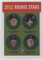Chris Parmelee, Stephen Lombardozzi, Pedro Florimon, Jordan Pacheco /1963