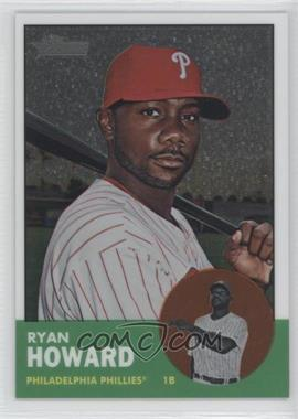 2012 Topps Heritage - [Base] - Chrome #HP21 - Ryan Howard /1963