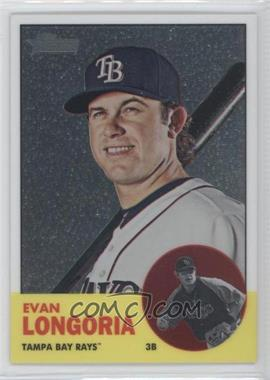 2012 Topps Heritage - [Base] - Chrome #HP28 - Evan Longoria /1963