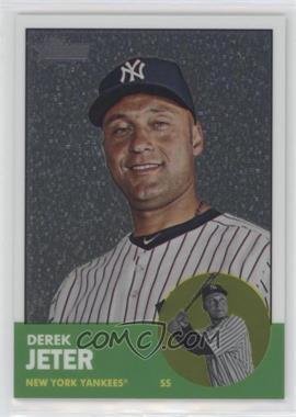2012 Topps Heritage - [Base] - Chrome #HP33 - Derek Jeter /1963