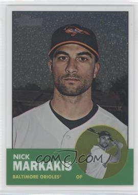 2012 Topps Heritage - [Base] - Chrome #HP35 - Nick Markakis /1963