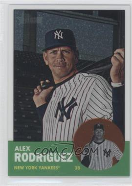 2012 Topps Heritage - [Base] - Chrome #HP43 - Alex Rodriguez /1963