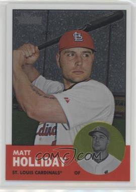 2012 Topps Heritage - [Base] - Chrome #HP81 - Matt Holliday /1963