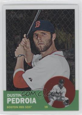 2012 Topps Heritage - [Base] - Chrome #HP9 - Dustin Pedroia /1963