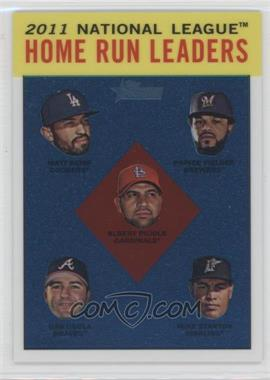 2012 Topps Heritage - [Base] - Chrome #HP93 - National League Home Run Leaders (Matt Kemp, Prince Fielder, Albert Pujols, Dan Uggla, Mike Stanton) /1963