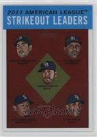 Justin Verlander, CC Sabathia, Felix Hernandez, David Price, James Shields /1963