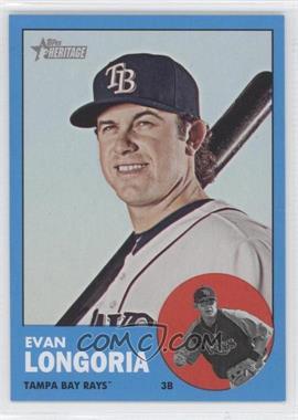 2012 Topps Heritage - [Base] #177.3 - Evan Longoria (Wal-Mart Blue)