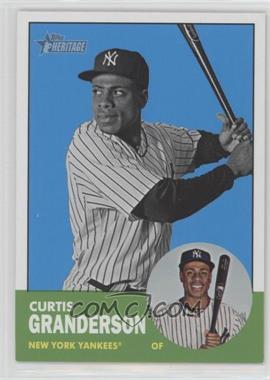 2012 Topps Heritage - [Base] #200.2 - Curtis Granderson (Image Swap Variation)