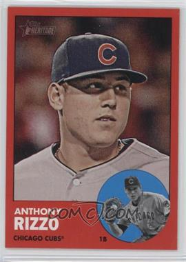 2012 Topps Heritage - [Base] #260.2 - Anthony Rizzo (Target Red)