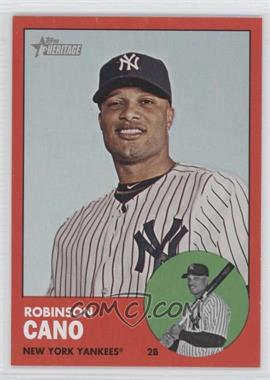 2012 Topps Heritage - [Base] #264.3 - Robinson Cano (Target Red)