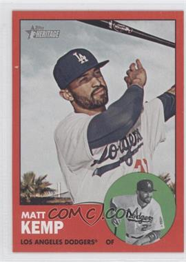 2012 Topps Heritage - [Base] #279.3 - Matt Kemp (Target Red)
