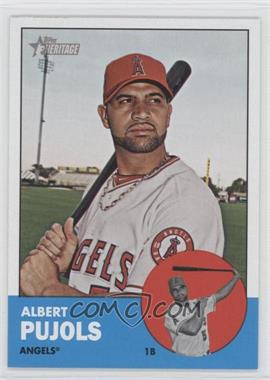 2012 Topps Heritage - [Base] #290.1 - Albert Pujols (Base)