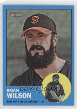 2012 Topps Heritage - [Base] #325.2 - Brian Wilson (Wal-Mart Blue)