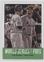 World Series Foes (Josh Hamilton, Albert Pujols)