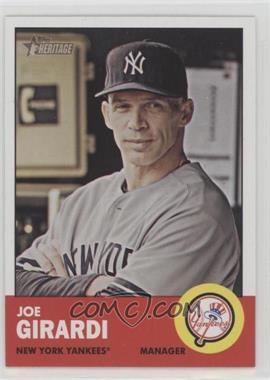 2012 Topps Heritage - [Base] #382 - Joe Girardi - Courtesy of COMC.com