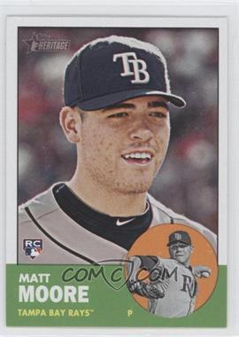 2012 Topps Heritage - [Base] #391 - Matt Moore