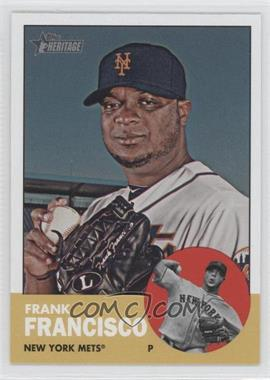 2012 Topps Heritage - [Base] #426 - Frank Francisco