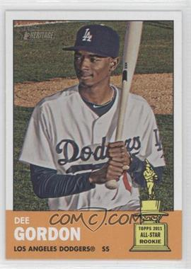 2012 Topps Heritage - [Base] #427 - Dee Gordon