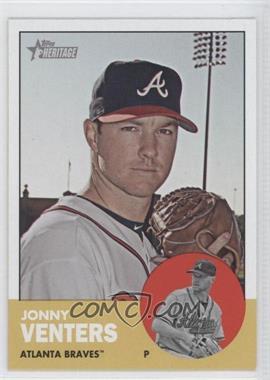 2012 Topps Heritage - [Base] #429 - Jonny Venters