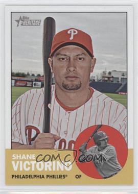 2012 Topps Heritage - [Base] #434 - Shane Victorino