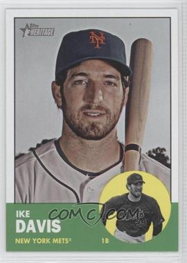 2012 Topps Heritage - [Base] #436 - Ike Davis