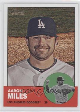 2012 Topps Heritage - [Base] #439 - Aaron Miles