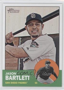 2012 Topps Heritage - [Base] #442 - Jason Bartlett