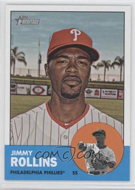 2012 Topps Heritage - [Base] #455 - Jimmy Rollins