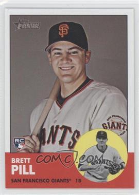 2012 Topps Heritage - [Base] #460 - Brett Pill