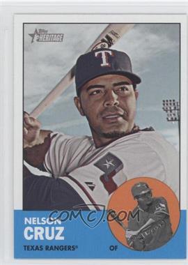 2012 Topps Heritage - [Base] #468.1 - Nelson Cruz (Base)