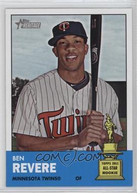 2012 Topps Heritage - [Base] #470 - Ben Revere