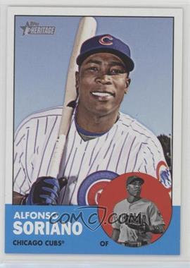 2012 Topps Heritage - [Base] #472 - Alfonso Soriano