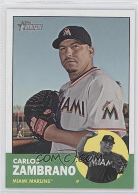 2012 Topps Heritage - [Base] #473 - Carlos Zambrano