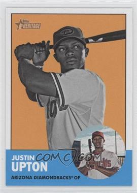 2012 Topps Heritage - [Base] #481.2 - Justin Upton (Image Swap)