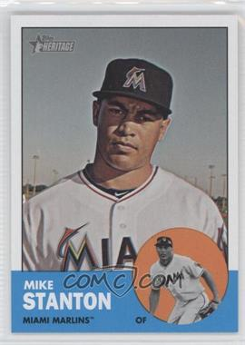 2012 Topps Heritage - [Base] #483.1 - Mike Stanton (Base)