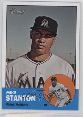 2012 Topps Heritage - [Base] #483.1 - Mike Stanton (Base)