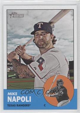 2012 Topps Heritage - [Base] #485.1 - Mike Napoli (Base)