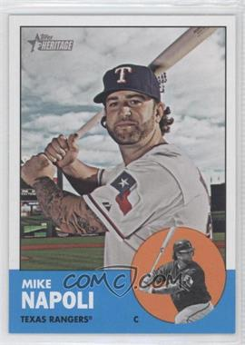 2012 Topps Heritage - [Base] #485.1 - Mike Napoli (Base)