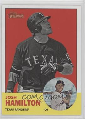 2012 Topps Heritage - [Base] #486.2 - Josh Hamilton (Image Swap)
