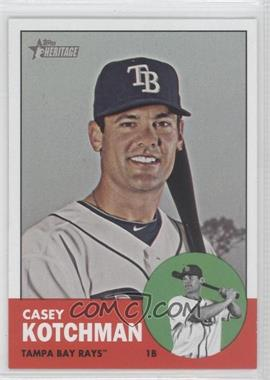 2012 Topps Heritage - [Base] #487 - Casey Kotchman