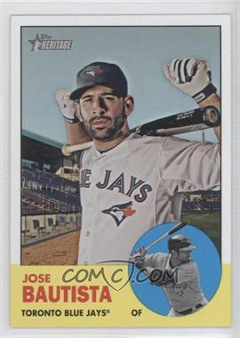 2012 Topps Heritage - [Base] #489.1 - Jose Bautista (Base)