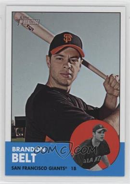 2012 Topps Heritage - [Base] #490 - Brandon Belt