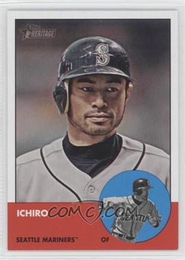 2012 Topps Heritage - [Base] #491 - Ichiro Suzuki