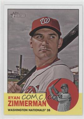 2012 Topps Heritage - [Base] #494.1 - Ryan Zimmerman (Base)