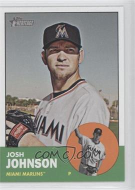 2012 Topps Heritage - [Base] #496 - Josh Johnson