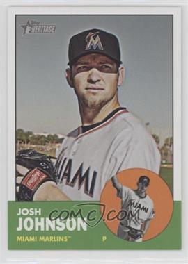 2012 Topps Heritage - [Base] #496 - Josh Johnson