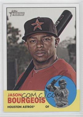 2012 Topps Heritage - [Base] #499 - Jason Bourgeois