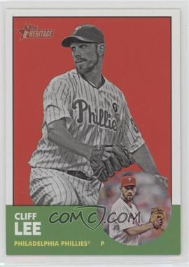 2012 Topps Heritage - [Base] #56.2 - Cliff Lee (Image Swap)