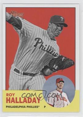 2012 Topps Heritage - [Base] #91.2 - Roy Halladay (Image Swap)