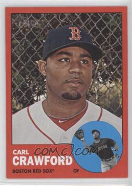 2012 Topps Heritage - [Base] #96.2 - Carl Crawford (Target Red)